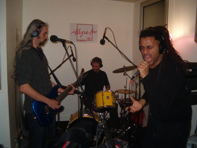 Collpse Live dans Coma Electrique sur Aligre FM 93.1
