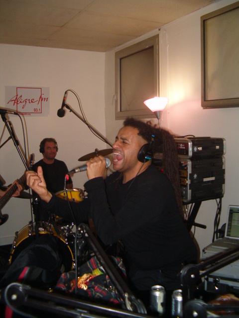 Collapse Live dans Coma Electrique sur Aligre FM 93.1